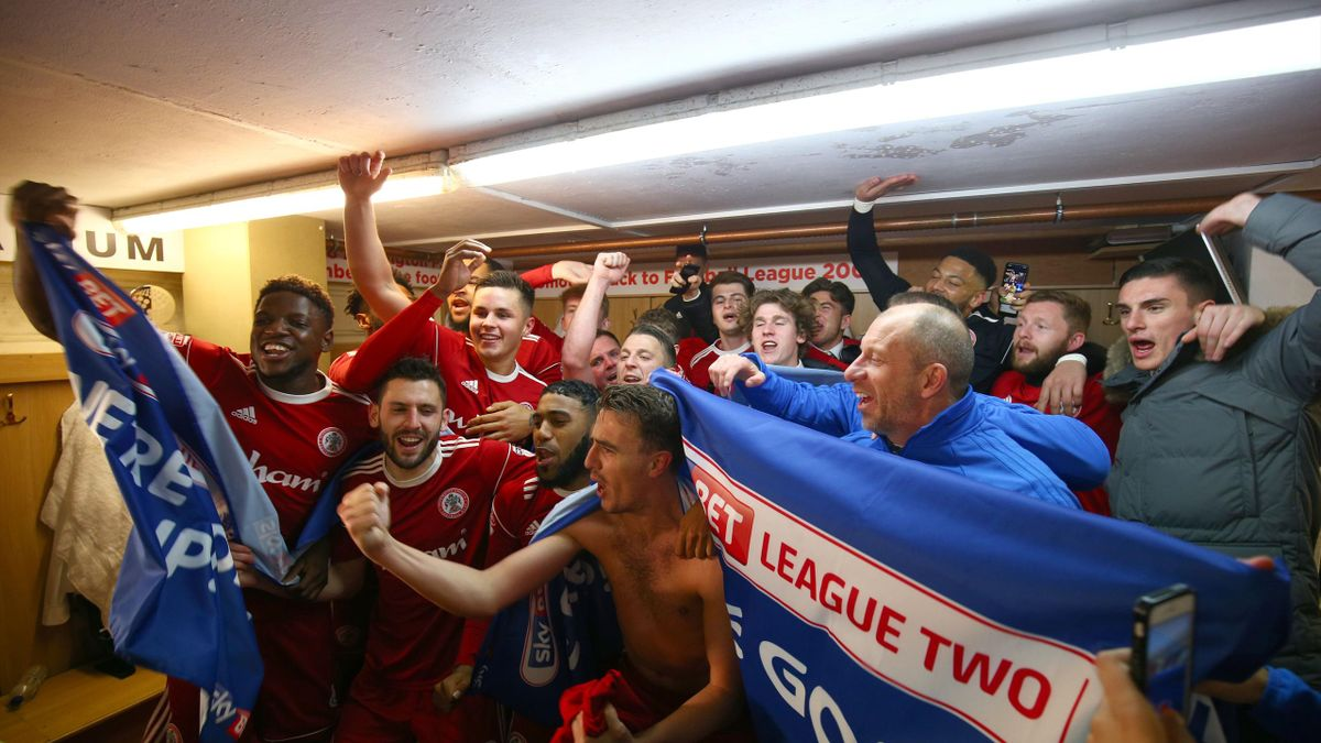 Accrington have been promoted (Dave Thompson/PA)