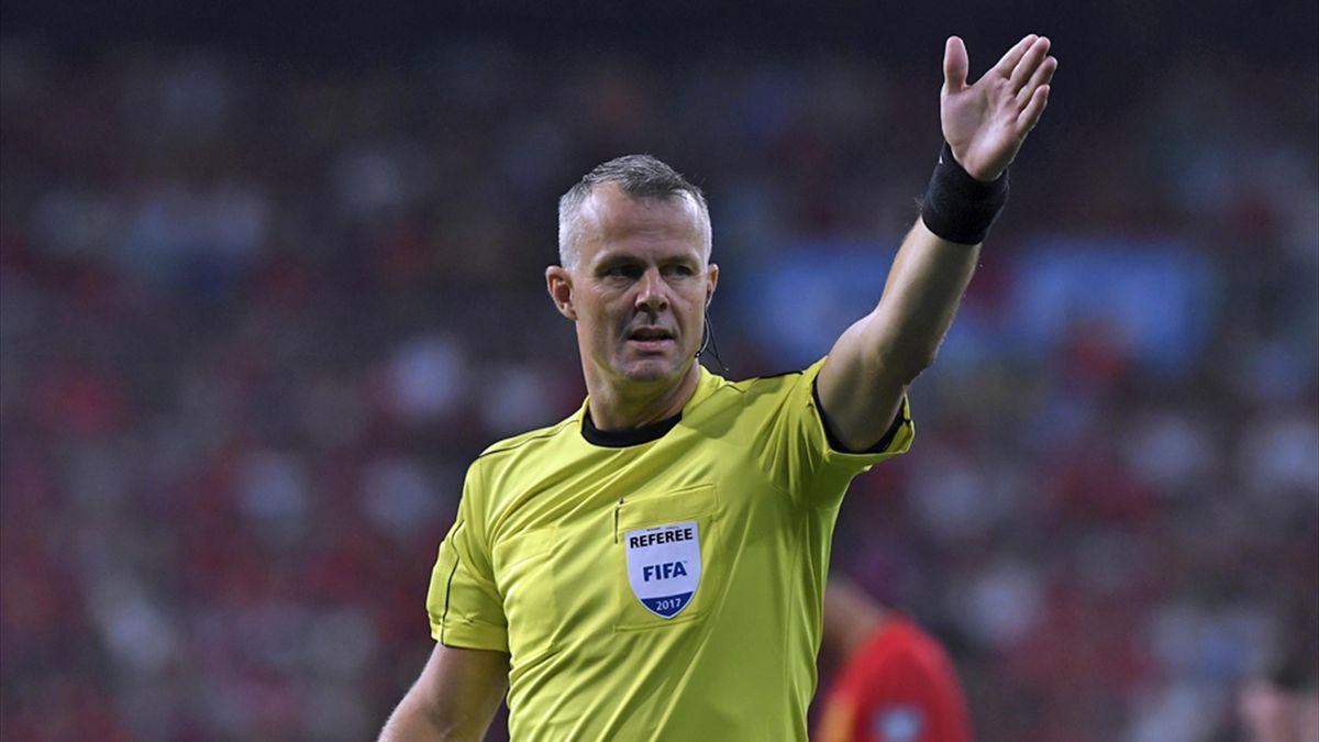 Björn Kuipers leitet das Hinspiel der Bayern gegen Real