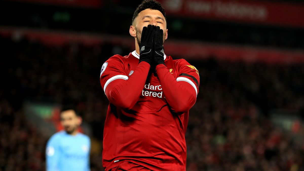 Alex Oxlade-Chamberlain has been ruled out for the remainder of the season with a knee injury (Peter Byrne/PA)