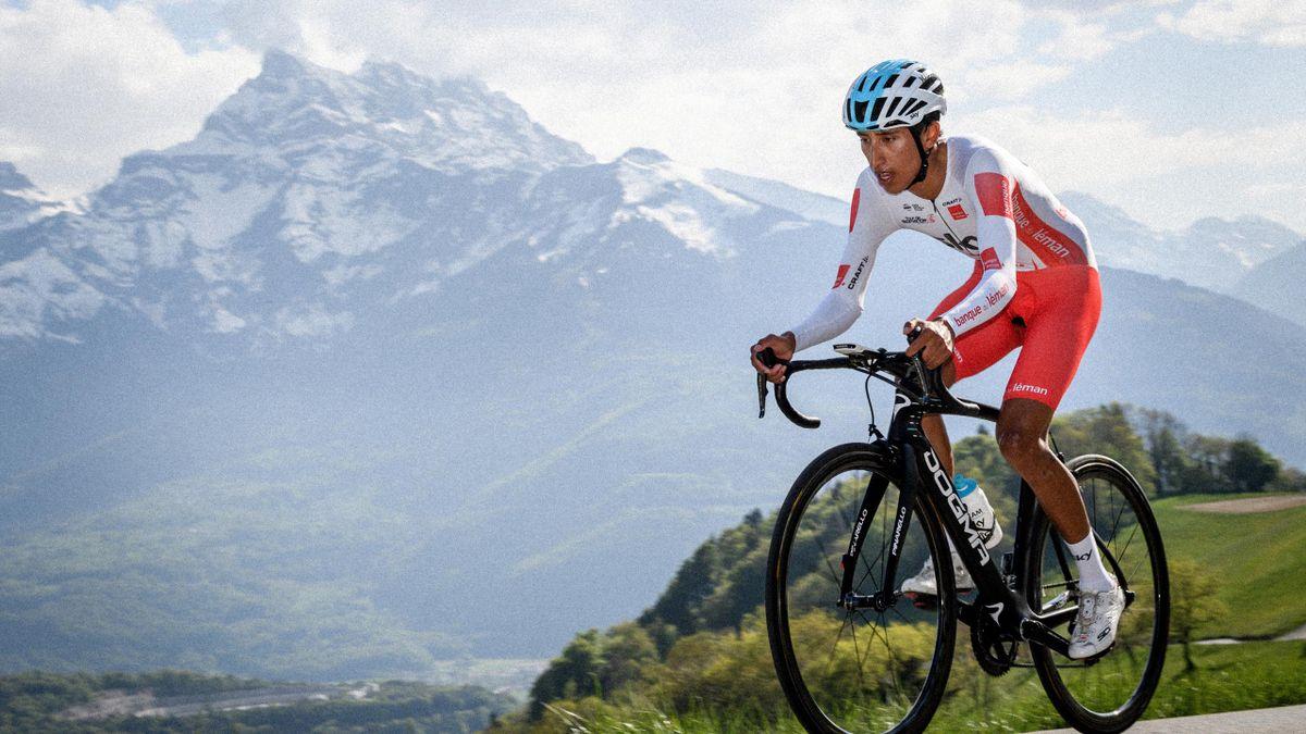 Bernal gewinnt Bergzeitfahren der Tour de Romandie