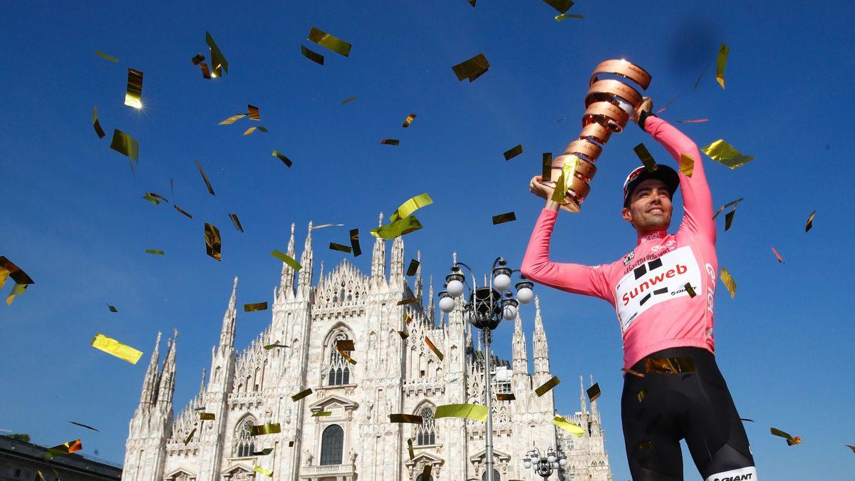 Tom Dumoulin wint Giro d'Italia 2017