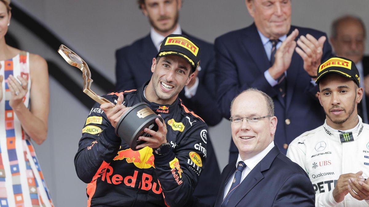 Ricciardo gana el Gran Premio de Mónaco