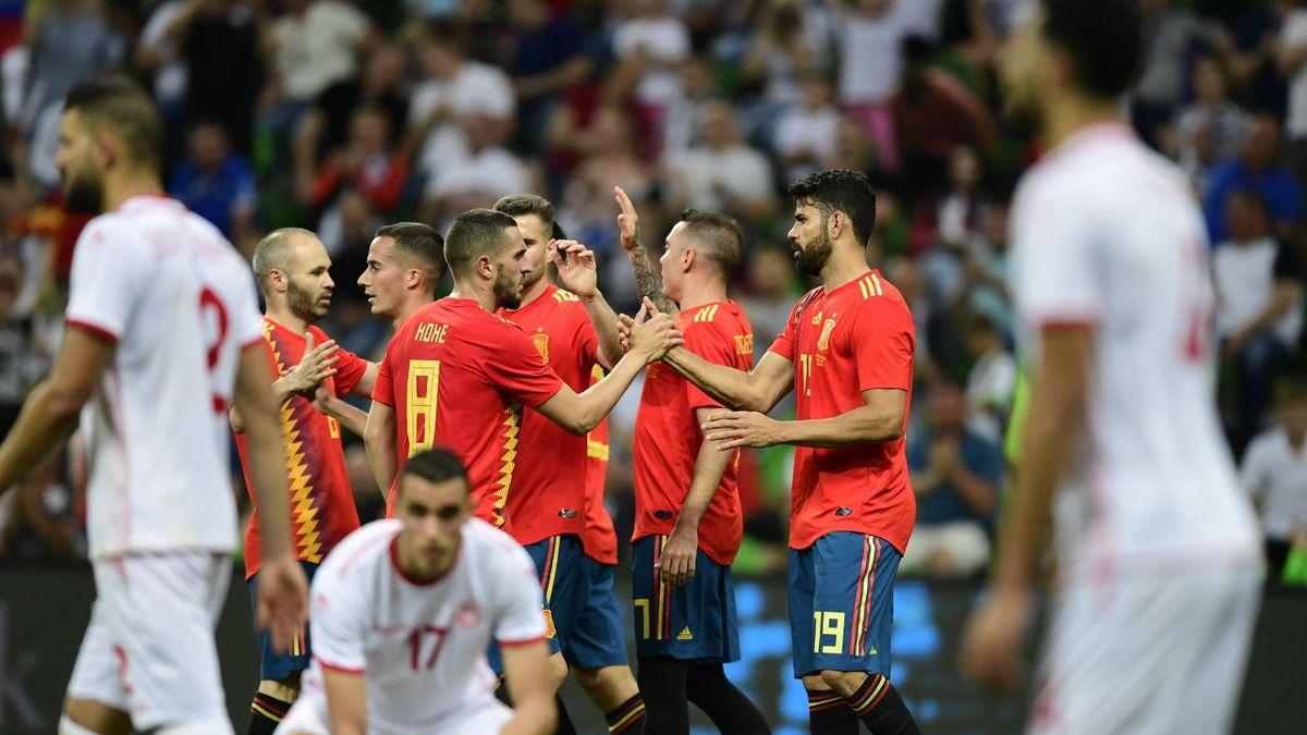 Spanien Tunesien