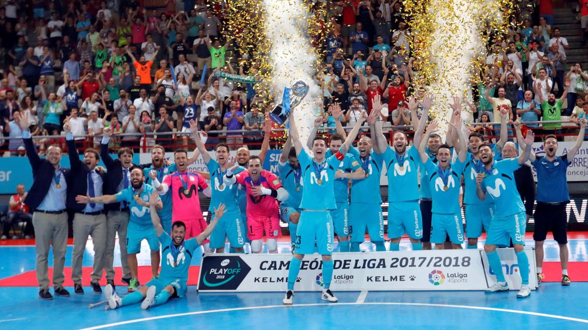 Movistar Inter, campeón de la LNFS