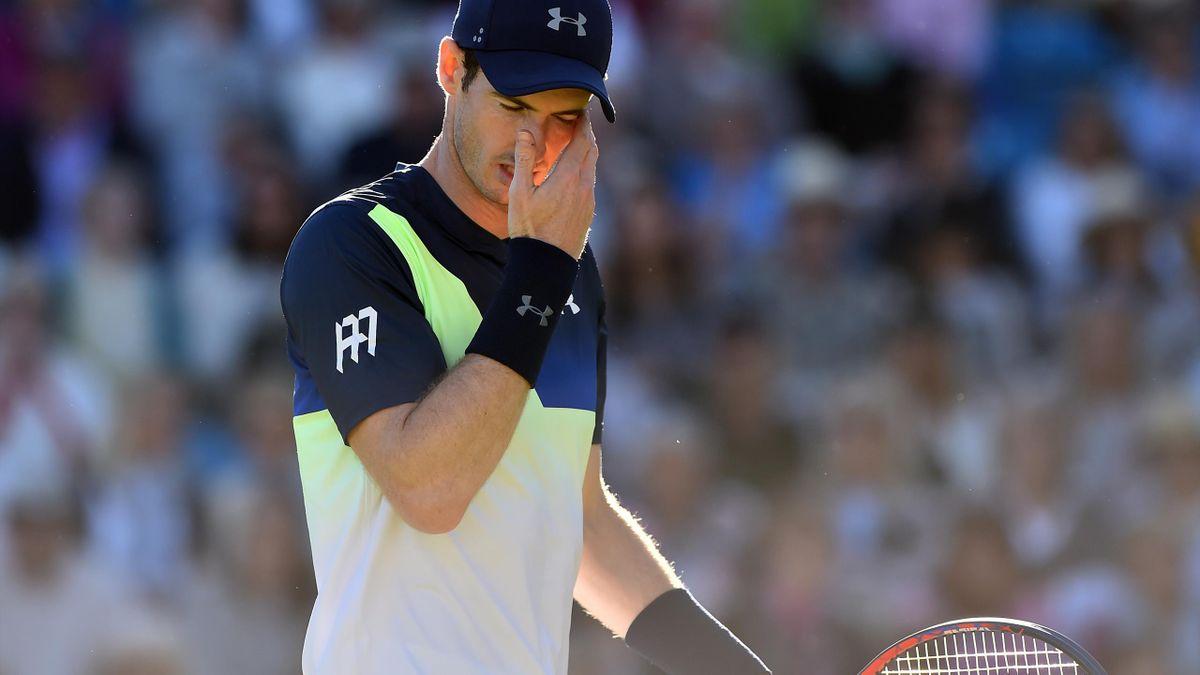 Andy Murray scheidet in Eastbourne aus