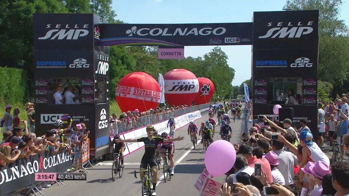 Giro Rosa : Finish Stage 3