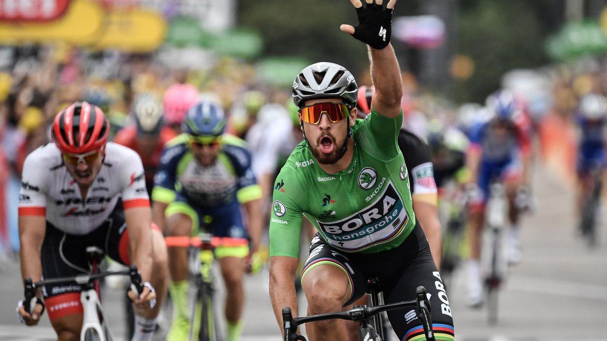 Peter Sagan gewinnt die 13. Etappe der Tour de France