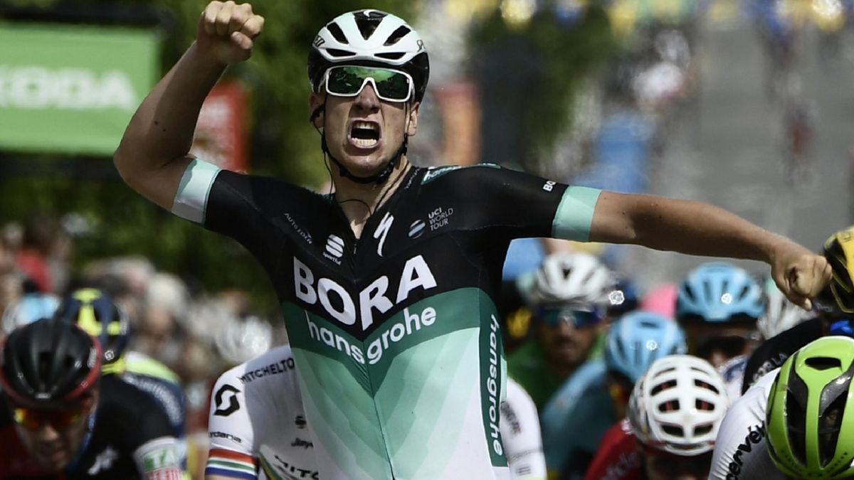 Pascal Ackermann feiert seinen dritten World-Tour-Sieg