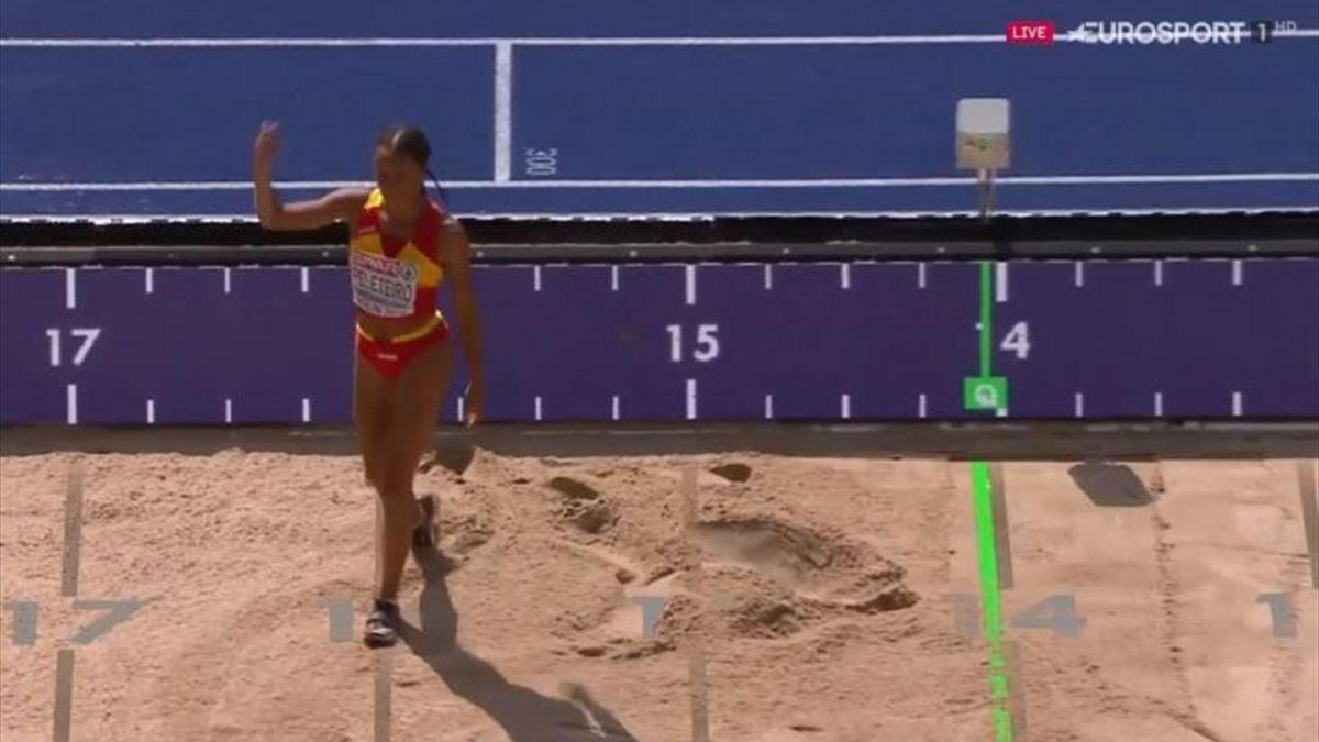Ana Peleteiro, a la final de un salto