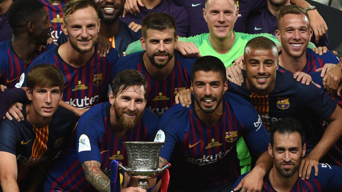 Marc Andre ter Stegen sichert Barcelona den Sieg im Supercup gegen den FC Sevilla.