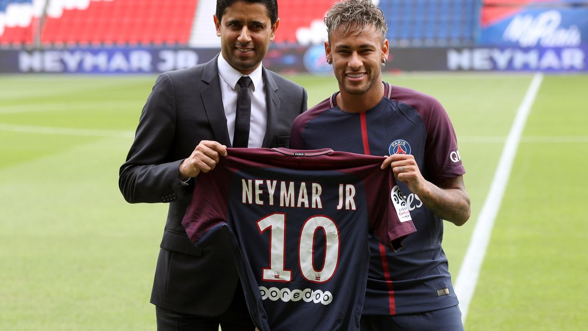 Neymar became the most expensive player in the world when he left Barcelona to join PSG last year.