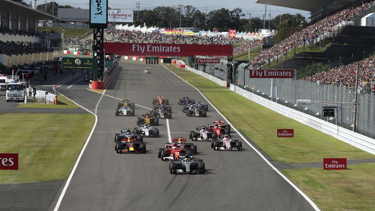 Formel 1 Ergebnisse Japan