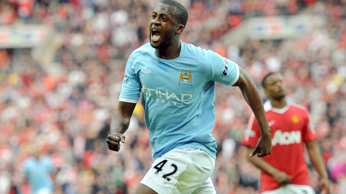 Yaya Toure scored the FA Cup semi-final winner seven years ago