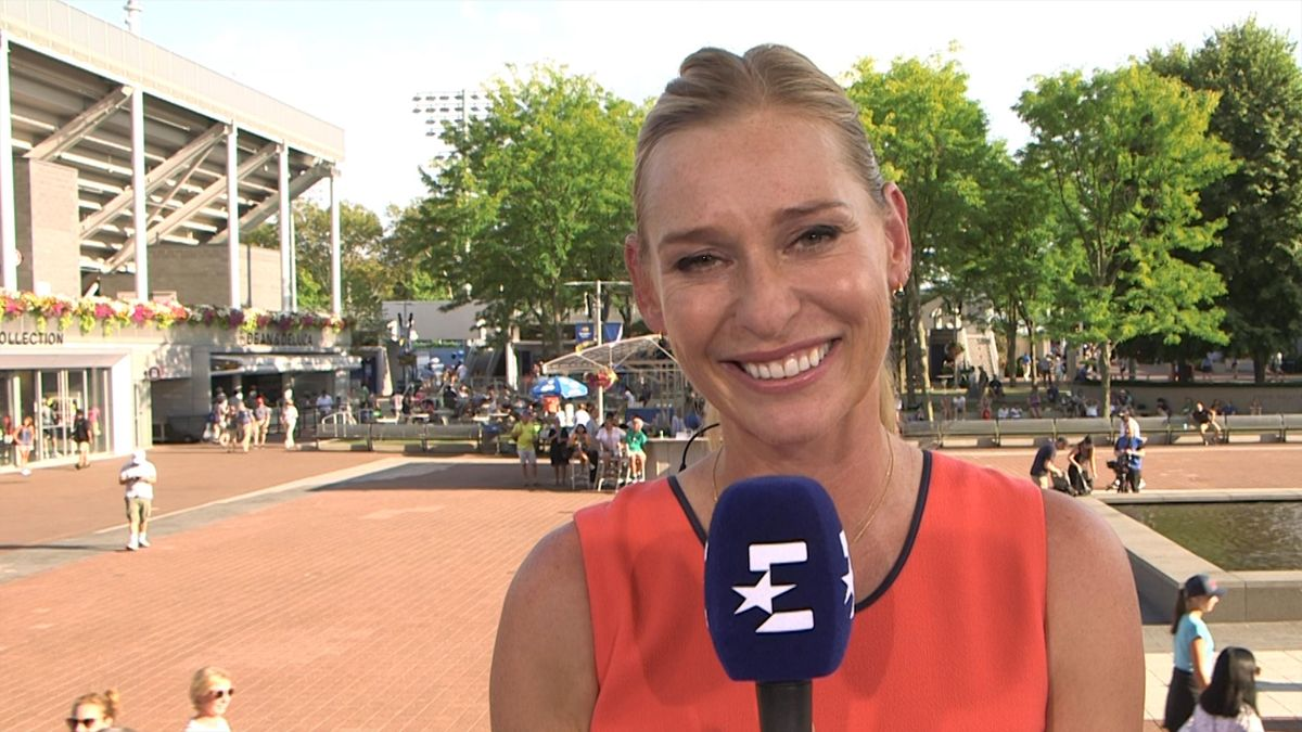 Barbara  Schett Best Moments starke Aussage zu Federer