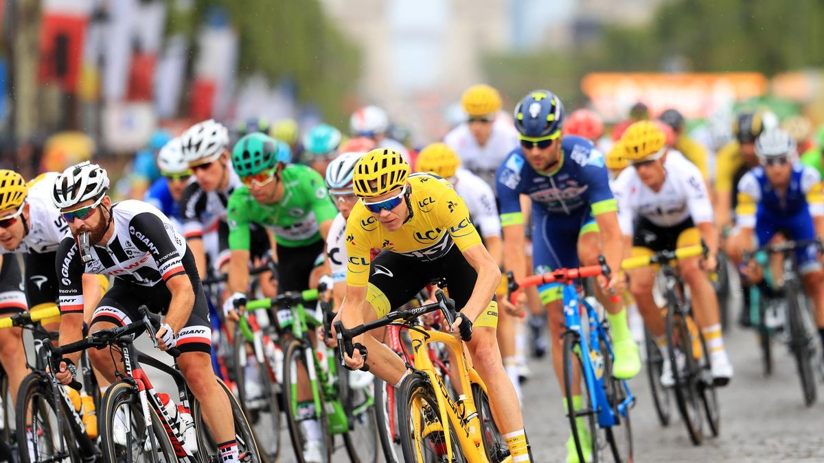 Chris Froome won a fourth Tour de France in 2017