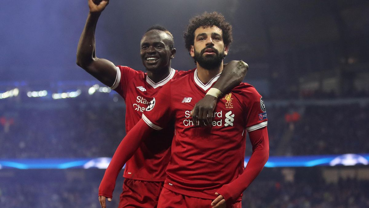 Sadio Mane, left, and Mohamed Salah have shone under Jurgen Klopp along with Roberto Firmino