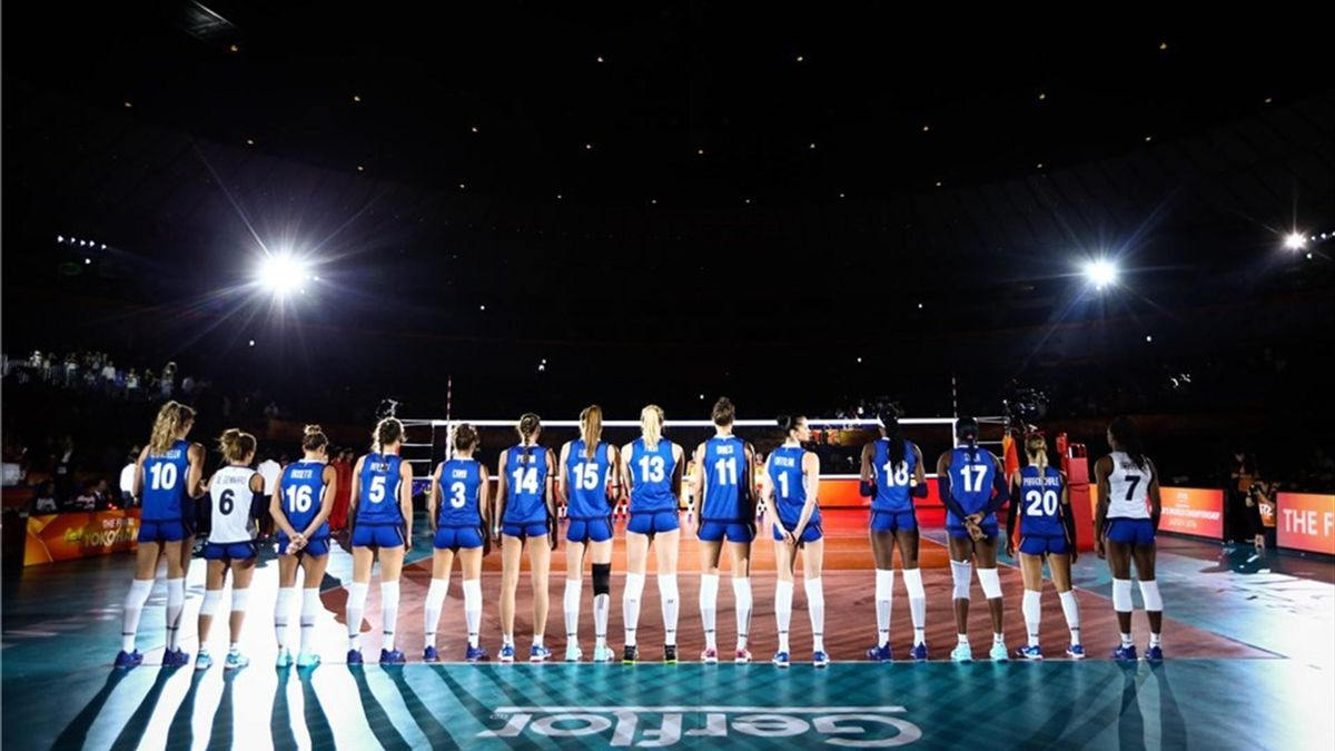 Italy volleyball 2018