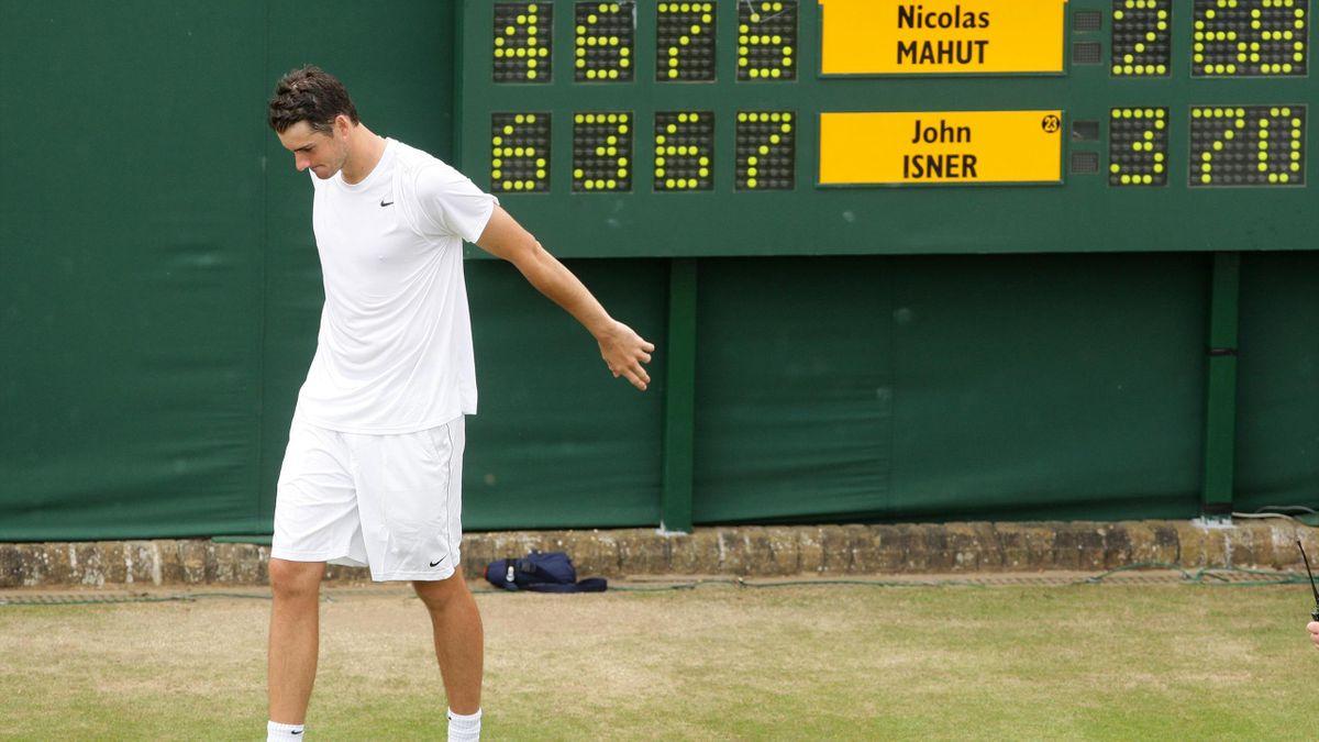 John Isner won the longest ever match at Wimbledon in 2010