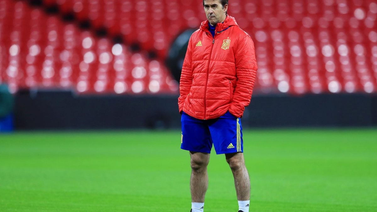 Spain Press Conference and Training Session – Wembley Stadium