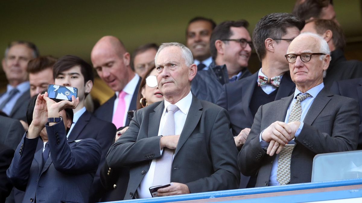 Premier League Richard Scudamore éa Bruce Buck