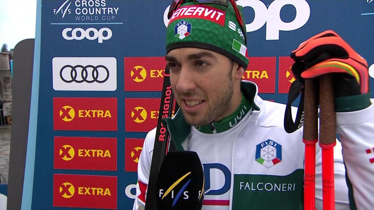Cross-country SWC Men Sprint Free - Interview Pellegrino