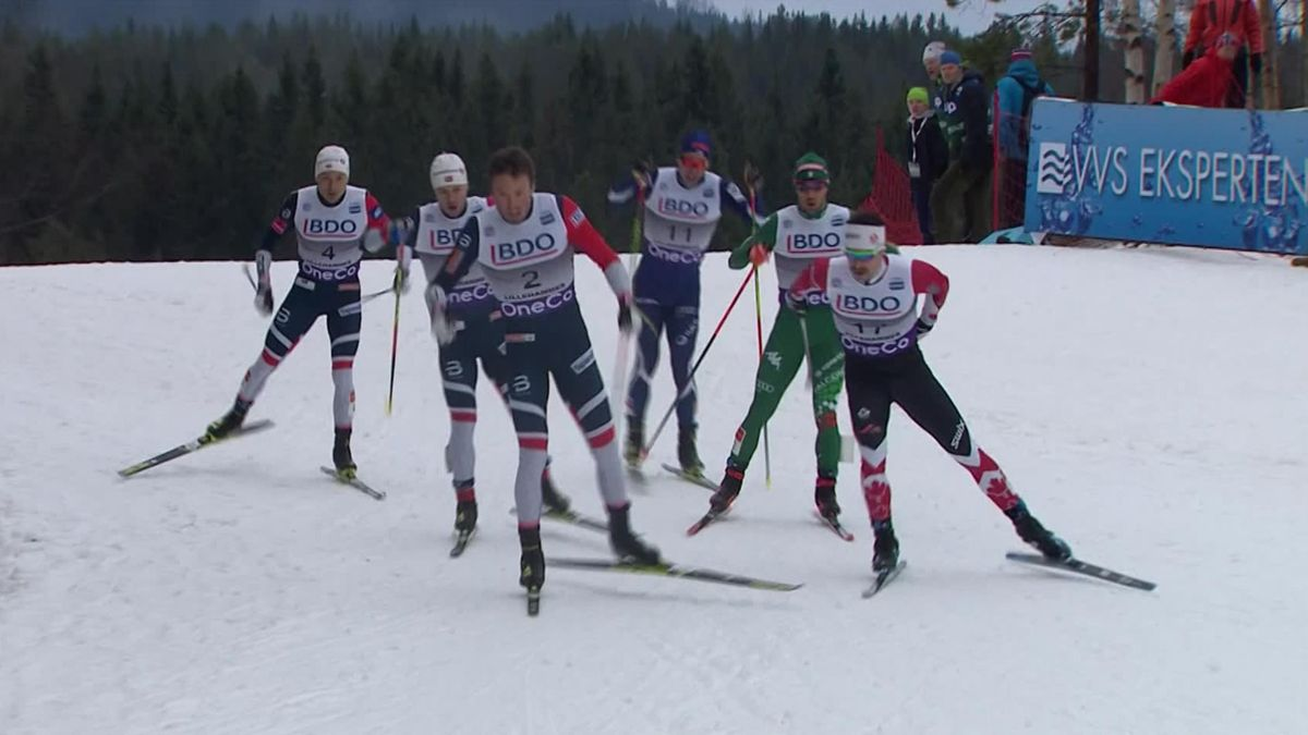 Cross-country SWC Men Sprint Free - Highlights