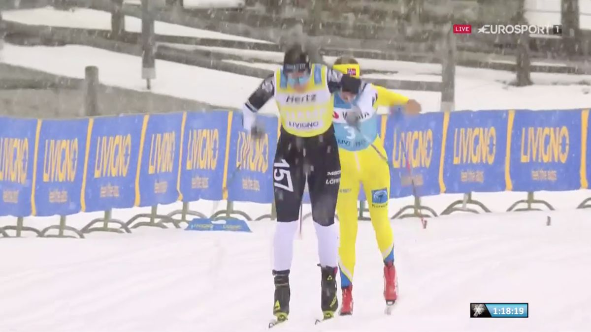 Britta Johansson vann och blev historisk i Livigno