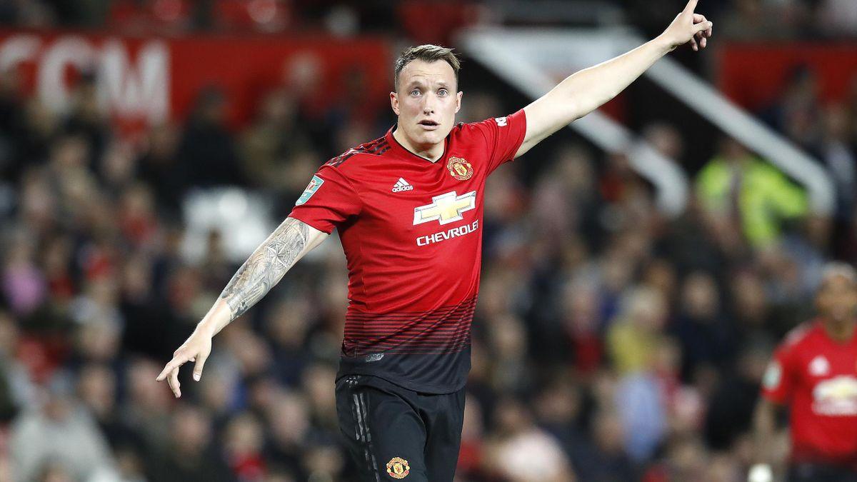 Phil Jones scored an own goal