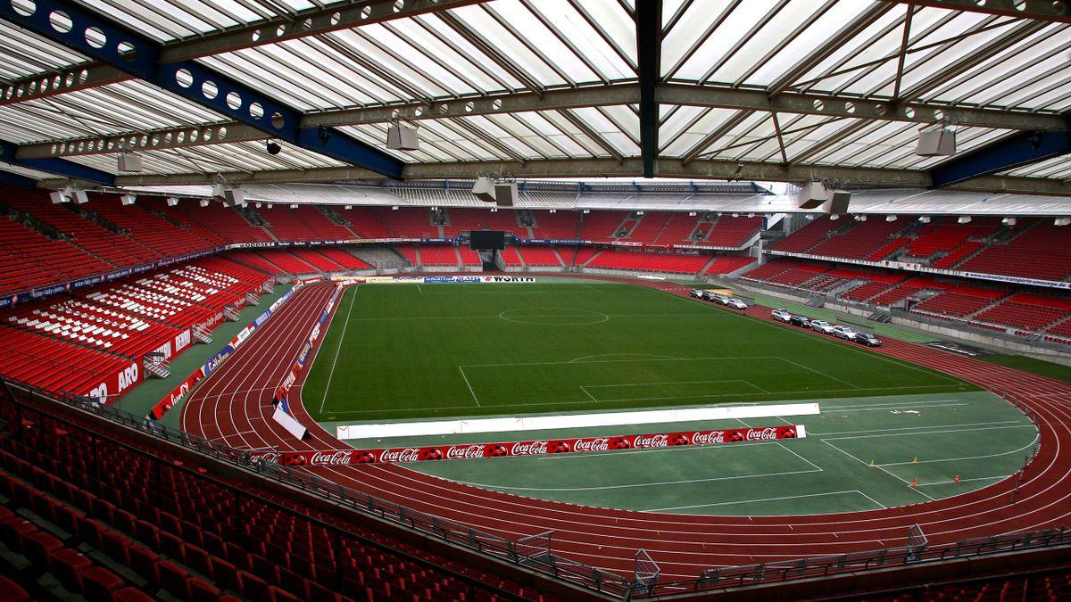 The Max-Morlock Stadium in Nuremberg