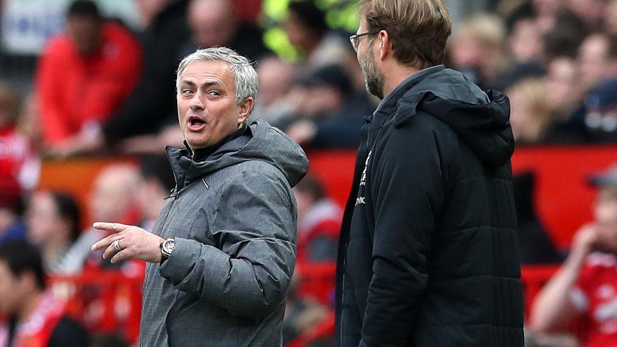 Jose Mourinho şi Jurgen Klopp