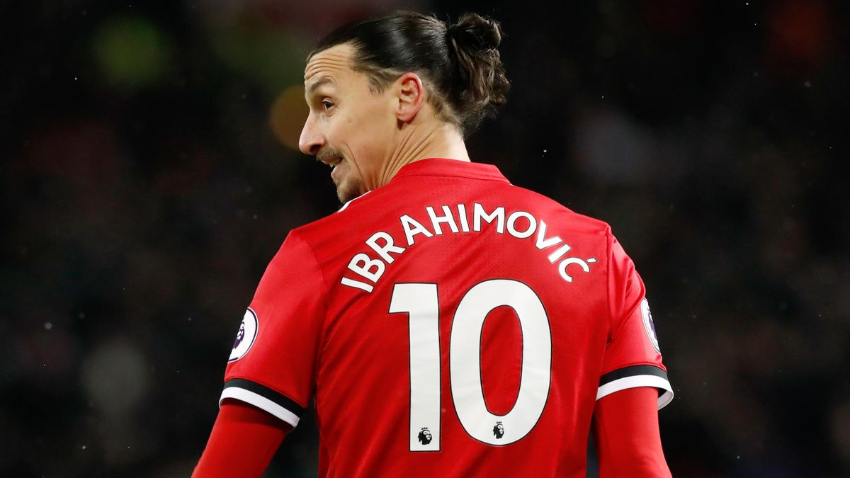 Zlatan Ibrahimovic joined LA Galaxy after a spell at Manchester United