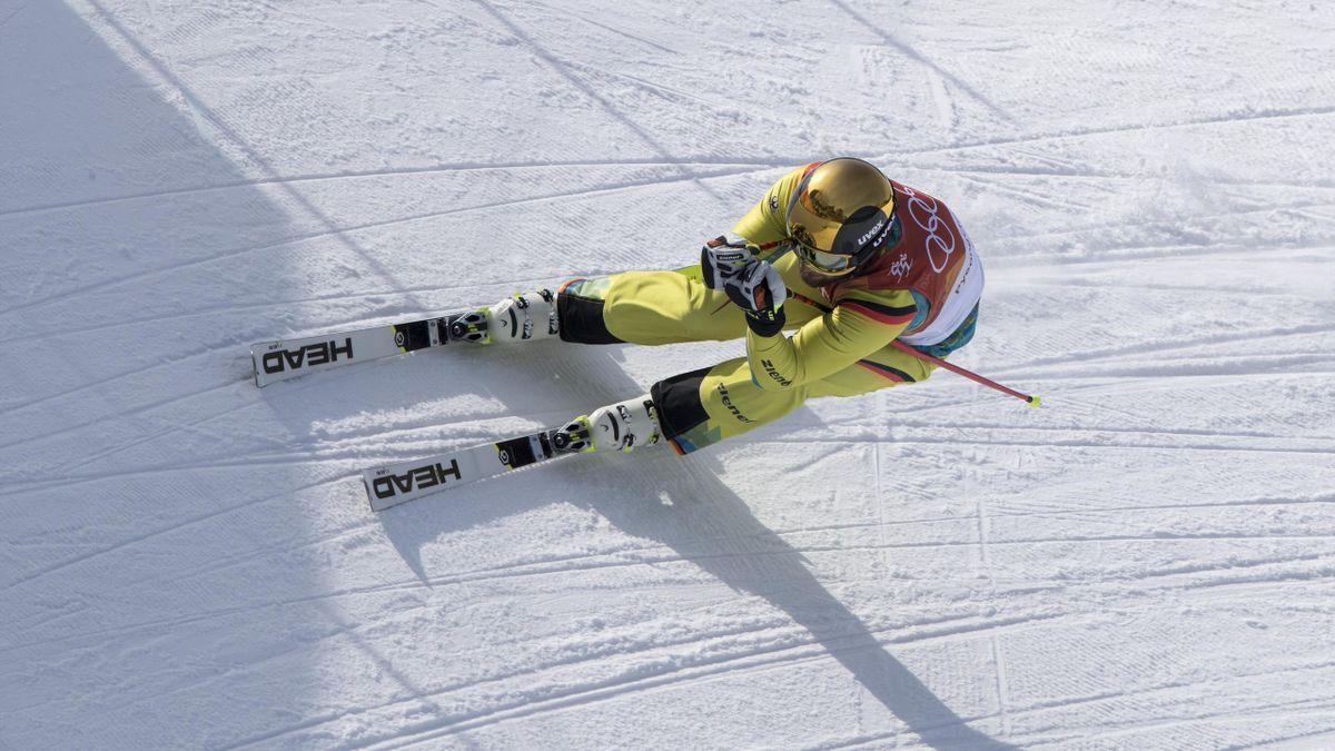 Paul Eckert fuhr auf Platz vier