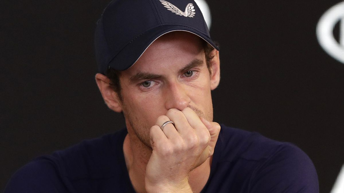 A tearful Murray announced his impending retirement on Friday