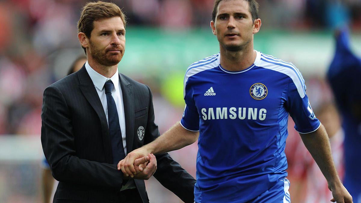 Frank Lampard și Andre Villas Boas
