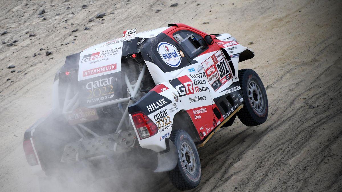 Nasser Al-Attiyah steht kurz vor seinem dritten Triumph