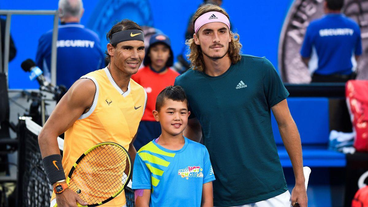 Rafael Nadal vs Stefanos Tsitsipas, semifinals Autralian Open 2019