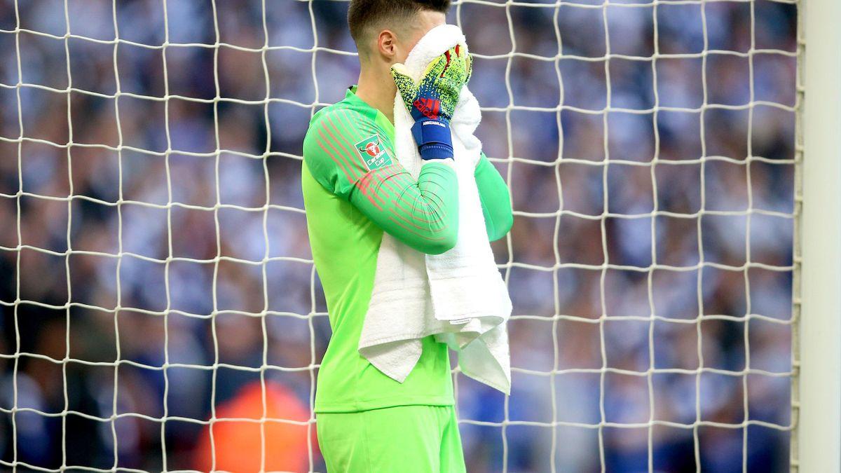 Kepa Arrizabalaga was dropped for Wednesday's Premier League clash with Tottenham