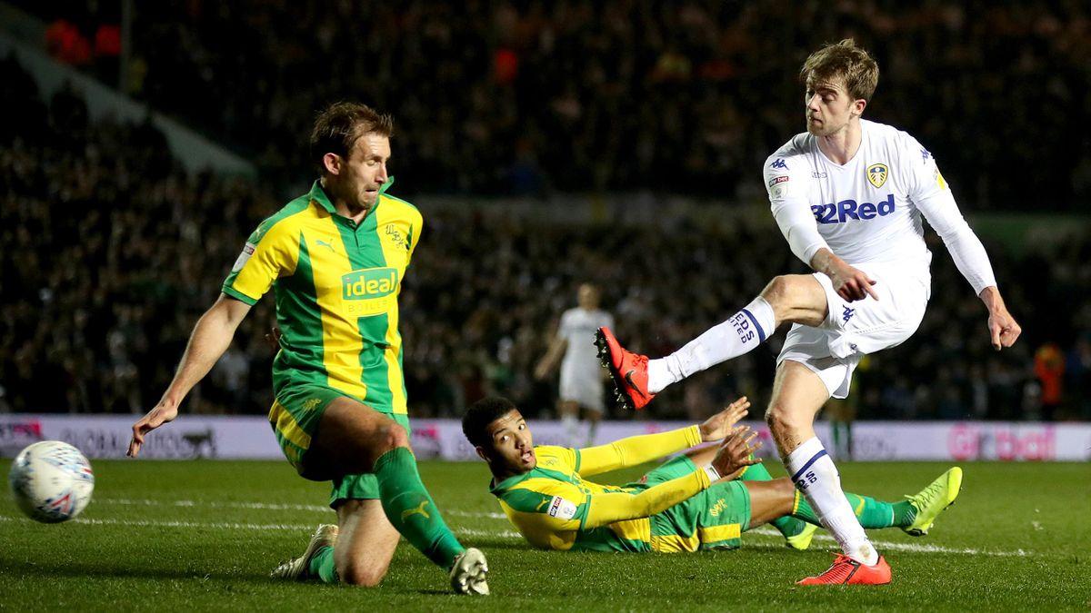 Patrick Bamford scored twice as Leeds thrashed West Brom 4-0 at Elland Road