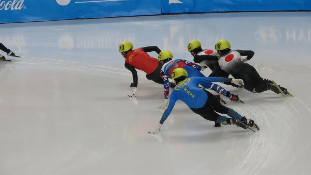 Speed skating gold and disappointment for South Korea at 2019 Winter Universiade in Krasnoyarsk