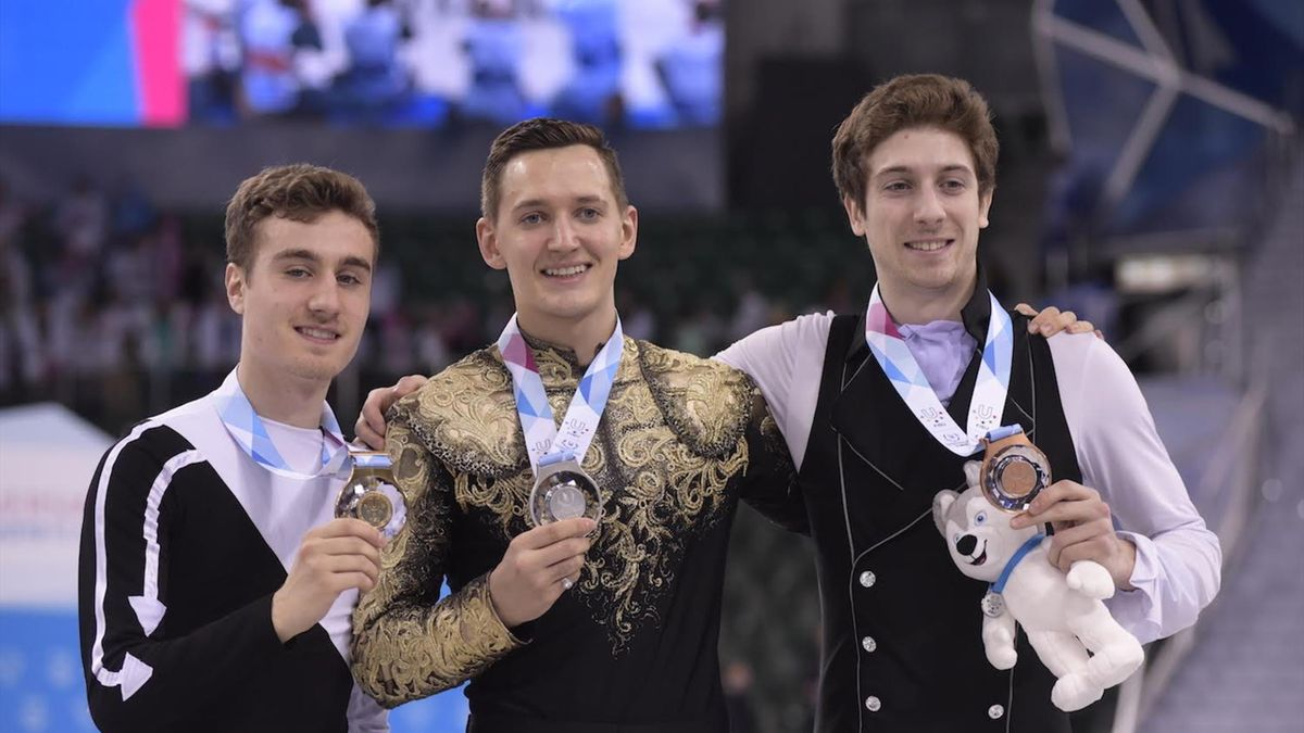 Matteo Rizzo wins men's figure skating at 2019 Winter Universiade