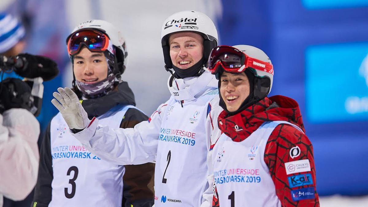 Ski acrobatique : Benjamin Cavet remporte sa 2e médaille aux Universiades d'hiver 2019