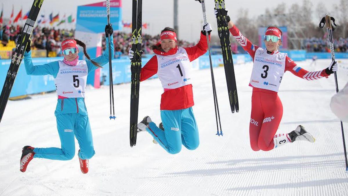 Zhambalova wins fourth gold medal at 29th Winter Universiade in Krasnoyarsk
