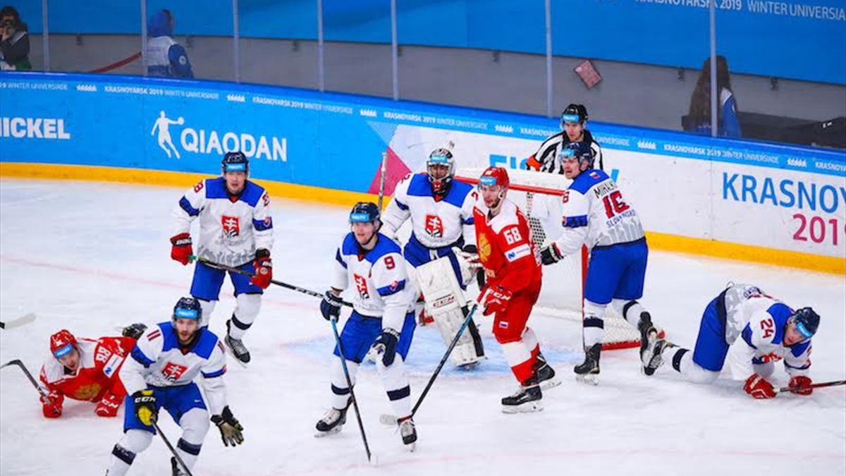 Ice hockey double for Russia to win final gold medals of 2019 Winter Universiade in Krasnoyarsk
