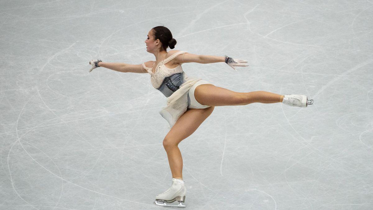 Eiskunstläuferin Alina Sagitowa gewinnt WM-Gold