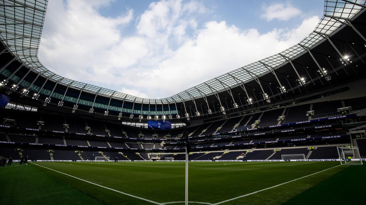 Tottenham's new stadium hosted its second test event