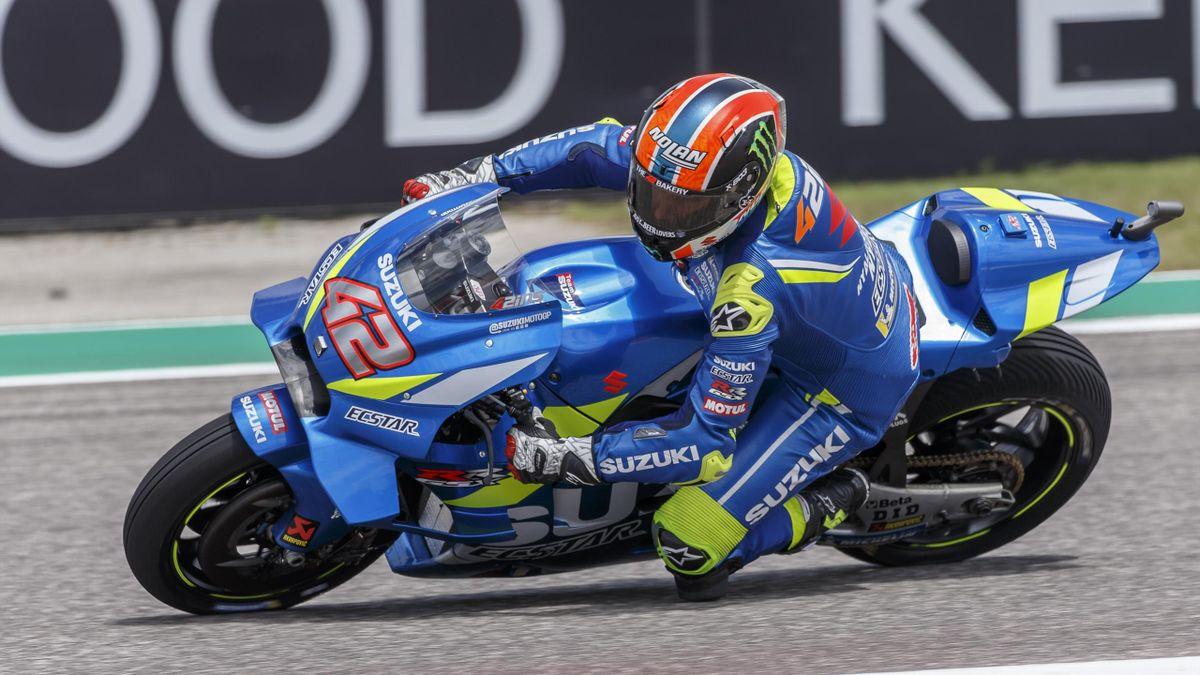 Alex Rins Gran Premio Americas