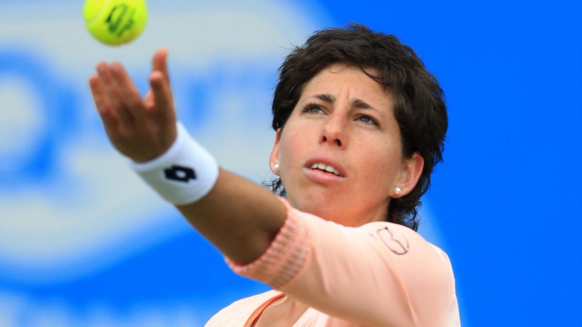 Carla Suarez Navarro was defeated in Turkey