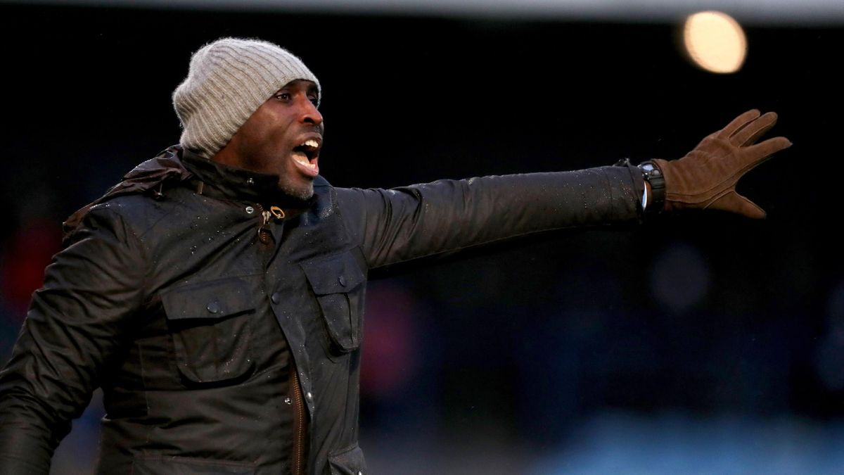 Sol Campbell took over as Macclesfield boss earlier this season