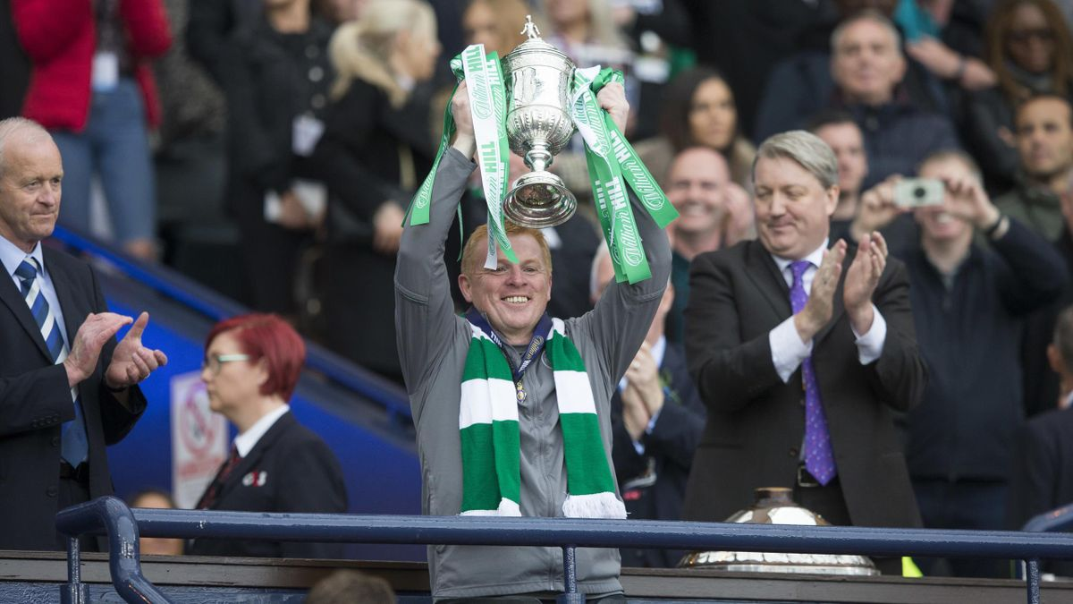 Neil Lennon guided Celtic to the treble treble