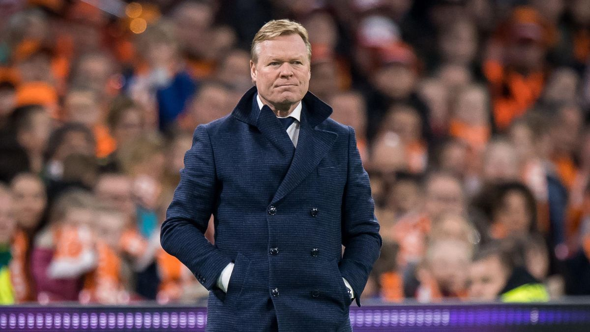 Ronald Koeman during the UEFA EURO 2020 qualifier group C qualifying match between The Netherlands and Germany at the Johan Cruijff Arena on March 24, 2019